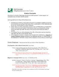 Oslis Citation Examples