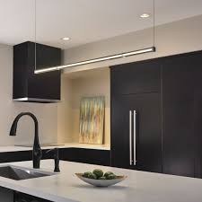 How to design kitchen lighting Lighting Ideas Curated Image With Gia Low Voltage Linear Suspension By Tech Lighting Entra Flanged Adjustable Ylighting How To Light Kitchen Expert Design Ideas Tips