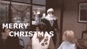 The Office Merry Christmas Gif Theoffice Merrychristmas Discover