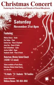 Christmas Concert Poster Choir Concert Christmas Poster Festival Collections