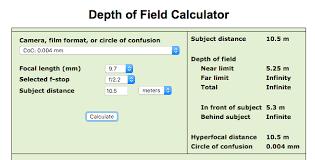 Hyperfocal Distance Of Mavics Lens Sensor Dji Forum