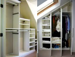 build closet under the stairs