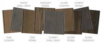 weathered gray kitchen cabinetry finishes both painted and stained gain popularity