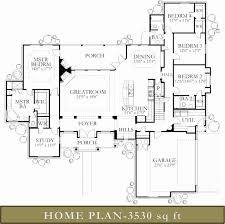 house plans 4000 to 5000 square feet unique ranch