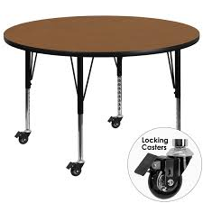 image is loading new 48 inch round school activity table oak