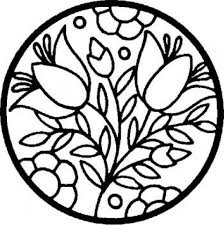 Small Picture Get This Printable Stained Glass Coloring Pages Online 91296
