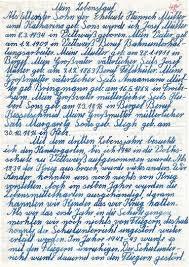 Handschriftlicher Lebenslauf Lebenslauf Kostenlose Anwendung