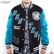 <b>Куртка MISHKA Retro Destory</b> Varsity Jacket купить в интернет ...