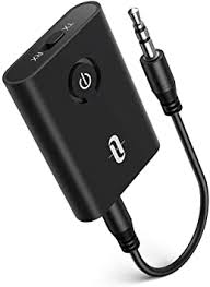 <b>Bluetooth 5.0</b> Transmitter/Receiver, TaoTronics 2-in-1 <b>Wireless</b> 3.5 ...