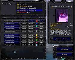 FOC Bleach Vs Naruto 4.1 [Warcraft III: The Frozen Throne] [Mods]