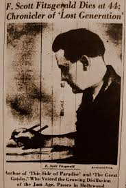f scott fitzgerald essays best images about f scott fitzgerald l  best images about f scott fitzgerald l wren the obituary of f scott fitzgerald