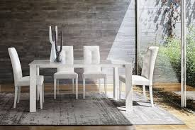 Tavolo design in alluminio con piano in vetro trasparente idfdesign