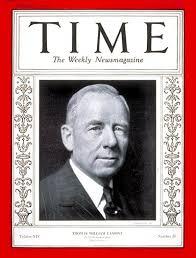 TIME Magazine Cover: Thomas W. Lamont - Nov. 11, 1929 - Economy