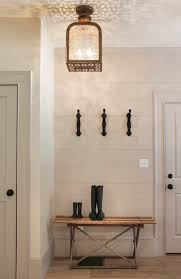 elegant farmhouse style chandelier furniture foyer design with decor wood wall painted all white interior color and hanging chandeliers lamp shades plus diy