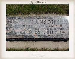 Myra Hanson