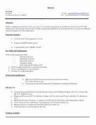 Resume For Fresher Perfect Resume