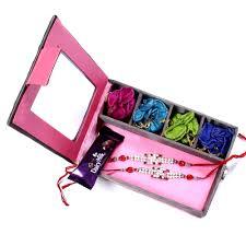 rakhi gifts to hyderabad india two rakhi set gift box rakhis br 018 dr4p