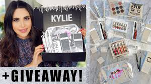 entire kylie cosmetics holiday collection bundle review swatches giveaway kylie jenner drama you