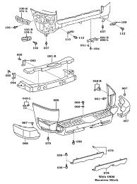 page 106 land cruiser bumper frame extensions fj cruiser rear bumper assembly