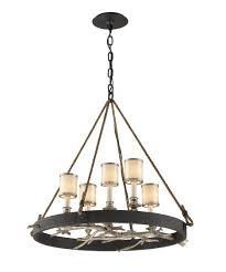 bronze pendant chandelier style