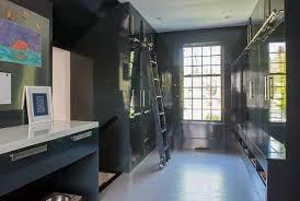 black locker dog room ideas