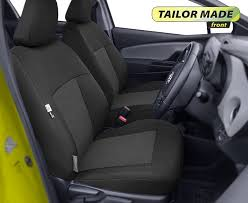 tailored front seat covers for