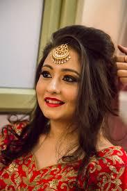 real bride in indian wedding makeup