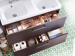 keep your bathroom organized with our morgen sink cabinet a beautiful solid wood sink cabinet that fits everything from hand towels to toiletries