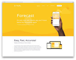 best landing page wordpress themes for apps products and kalium landing page wordpress website template