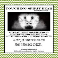 best touching spirit bear images touching spirit  touching spirit bear literature guide