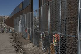 Mexico Border Wall Design Trump Design Of Proposed Wall Along Us Mexican Border