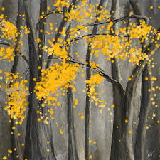 yellow painting rejuvenating elements yellow and gray art by lourry legarde
