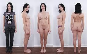 Nude naked undressed women