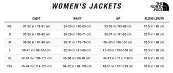 North Face Size Chart Womens Apex Risor Jacket