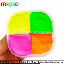 4color diy modeling clay play dough super light clay kids educational toy