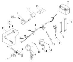 mini atv wiring diagram drr atv wiring diagram drr wiring diagrams drr oem ignition and wire harness mini quad