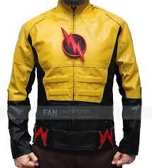reverse flash costume jacket the flash leather jacket