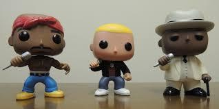 eminem custom funko pop with biggie and tupac