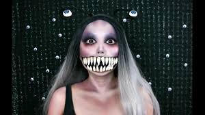 scary monster slug makeup tutorial you