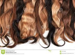 Mengeling Van Natuurlijk Uitbreidingenhaar Blond Rood Bruin