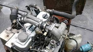Nissan Td27 Turbo - YouTube