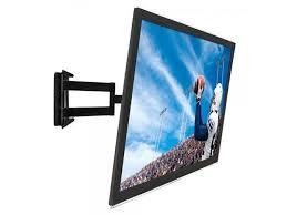 full motion corner tv wall mount low