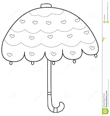Small Picture Umbrella Coloring Page Stock Illustration Image 50480606