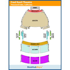 Thousand Oaks Performing Arts Center Seating Chart 43 Precise Thousand Oaks Civic Art Center