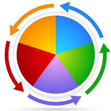 Circular Chart With Arrow Vector 01 Free Download