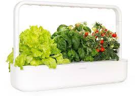 grow indoor hydroponic smart herb garden kit with growlights