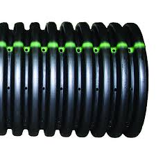 ads 6 in x 10 ft corrugated perforated pipe