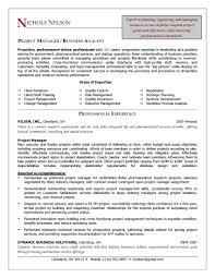 Cover Letter Sample Executive Management Resume Project Management
