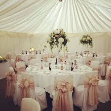 wedding chair covers white with gold chair sashes