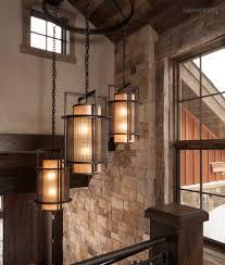 lighting luxury craftsman style